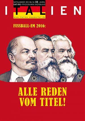 Fussball-EM 2016: Alle Reden vom Titel!