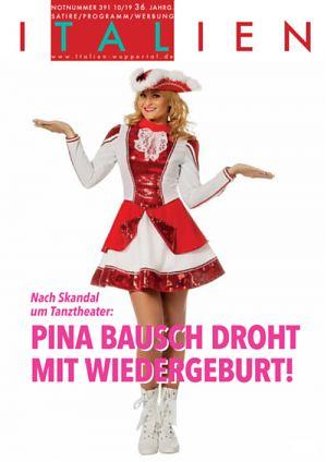 Nach Skandal um Tanztheater: Pina Bausch droht mit Wiedergeburt