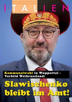 Kommunalwahl in Wuppertal - Vorbild Weißrussland: Slawischenko bleibt im Amt!