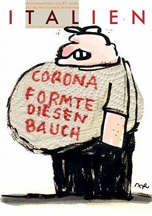 Corona formte diesen Bauch