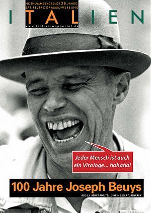 Jeder Mensch ist auch ein Virologe ... hahaha! - 100 Jahre Joseph Beuys
