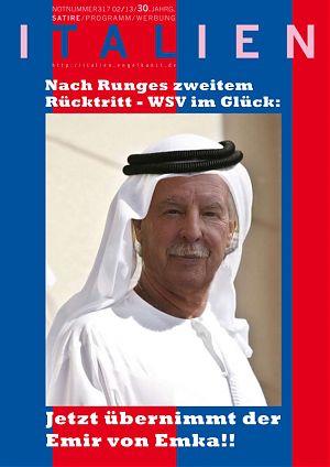 Nach Runges zweitem Rücktritt - WSV im Glück: Jetzt übernimmt der Emir von Emka!!