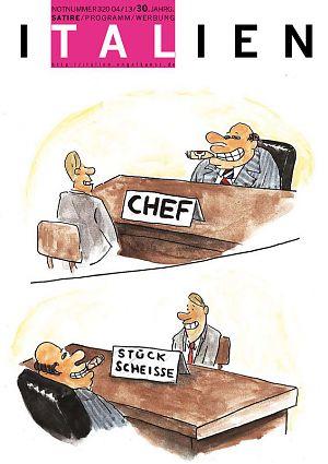 Chef - Stück Scheisse