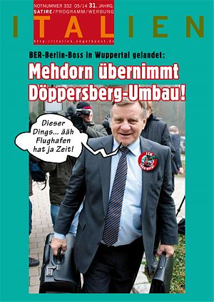 BER-Berlin-Boss in Wuppertal gelandet: Mehdorn übernimmt Döppersberg-Umbau!