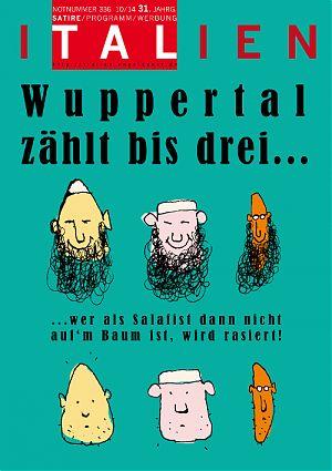 Wuppertal zählt bis drei, wer als Salafist dann nicht auf'm Baum ist, wird rasiert!