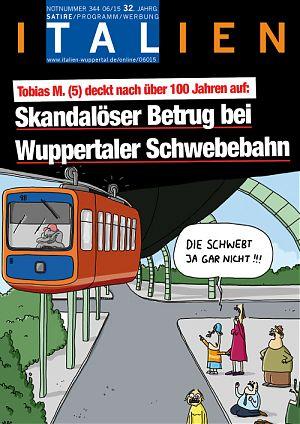 Skandalöser Betrug bei Wuppertaler Schwebebahn: Die schwebt ja gar nicht!!!