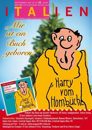 """Harry vom Hombüchel: """"Mir ist ein Buch geboren"""""""