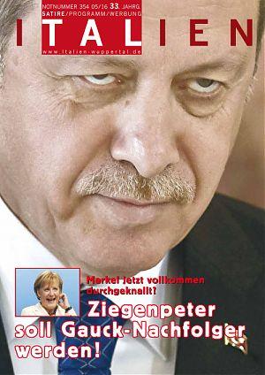 Merkel jetzt vollkommen durchgeknallt! Ziegenpeter soll Gauck-Nachfolger werden!